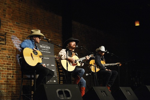 (L-R): Paul Overstreet, Michael Martin Murphy and Scotty Emerick