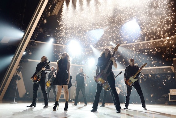 The Band Perry give the performance of the night. Photo: ACM