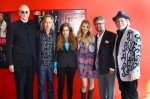 (L-R  T Bone Burnett, Jim Lauderdale, Lisa Marie Presley, Elizabeth Cook, Americana Executive Director Jed Hilly, Buddy Miller)