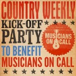 Performers Announced For 'Country Weekly' Kick-Off Party