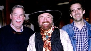Pictured (L-R): Red River Entertainment's Chuck Rhodes, Michael Martin Murphey, and Murphey's producer, Ryan Murphey.
