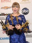 Taylor Swift poses in the press room at the Billboard Music Awards