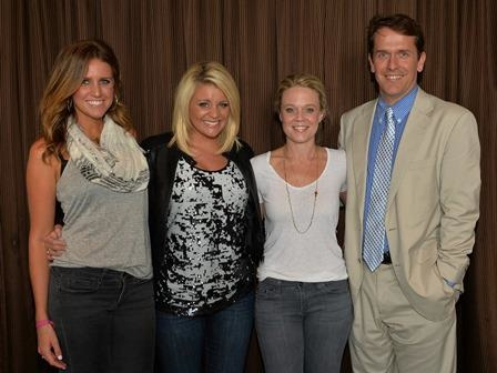 Pictured (L-R):Hannah Martin, Manager, ACM Lifting Lives; Lauren Alaina; Tiffany Moon, ACM EVP/Managing Director; Rondal Richardson, Entertainment Industry Relations Manager at Vanderbilt University.