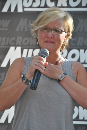 "Song of the Year (""I Drive Your Truck"") co-writer Connie Harrington."