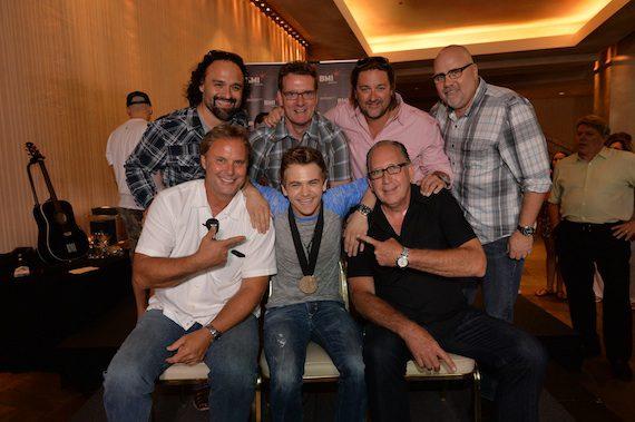 Pictured (Top row, L-R): Lou Ramirez, Peter Strickland, Chris Stacey, Kevin Herring Bottom row, (L-R): Scott Hendricks, HH, John Esposito