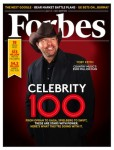 Toby Keith Covers 'Forbes' Celebrity 100 Issue