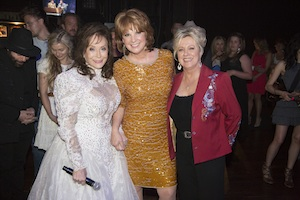 Pictured (L-R): Loretta Lynn, Patty Loveless and Connie Smith.