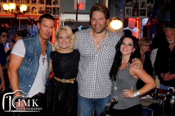 Pictured (L-R): Phoenix Stone, Meghan Linsey, James Otto, Lyndsey Highlander