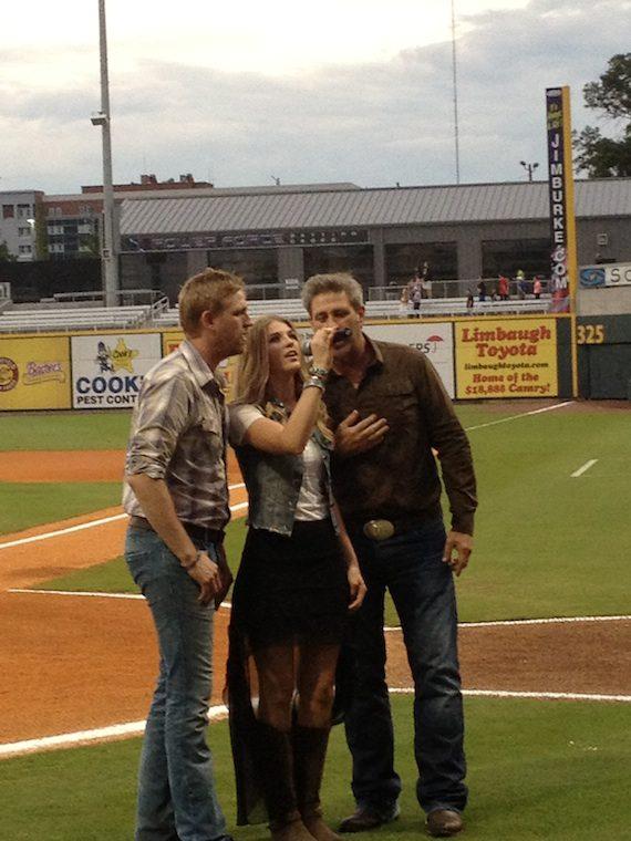 Pictured (L-R): Aaron, Clara & Brian Henningsen