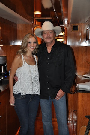 Pictured (L-R): Sarah Darling and Alan Jackson