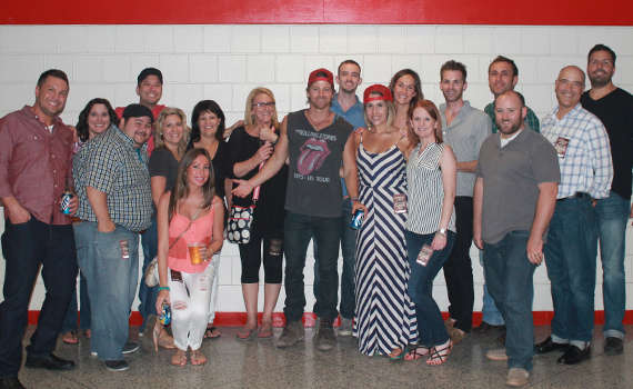 Nashville Industry with Kip Moore on Saturday, Aug. 17.