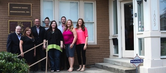 Pictured L to R: Bill Mayne (Executive Director), Chasity Crouch (Business Manager), Charlie Morgan (CRS President), Michelle Tigard Kammerer (Director of Brand Marketing and Strategic Sponsorships), Kristen McRary (Event Support Director and Executive Assistant), Bradford Hollingsworth (Director of Brand Marketing and Strategic Sponsorships), Sheree Latham (Agenda Coordinator) and Kristen England (Creative Director).