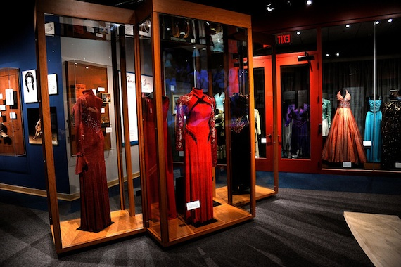 Several of Reba's dresses from various awards shows and events.
