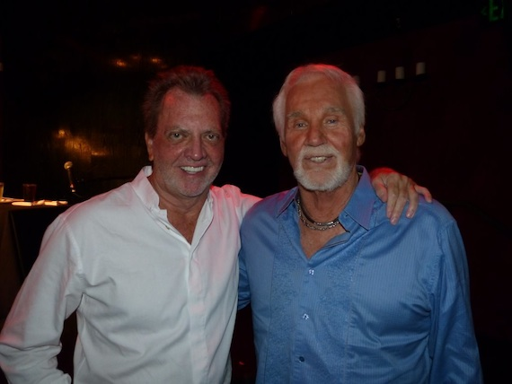 Pictured (L-R): Gerry House and Kenny Rogers
