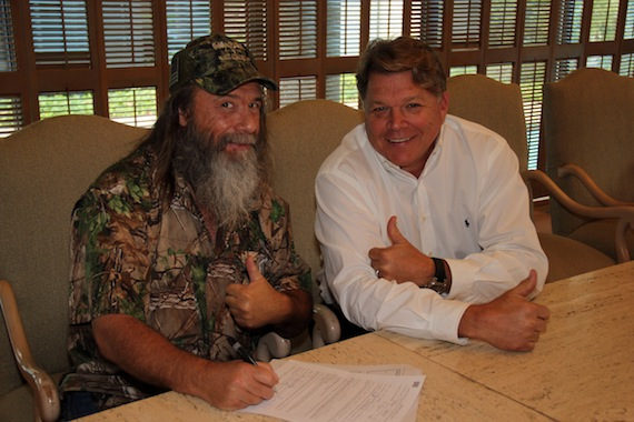 Mountain Man and BMI's David Preston