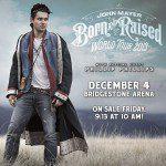 John Mayer Books Nashville Tour Date