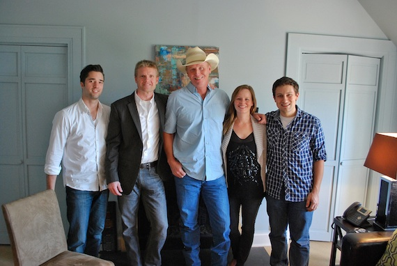 Pictured (L-R):  Kevin Lane, Creative Director; Kos Weaver, Executive Vice President – BMG Chrysalis Nashville, Wynn Varble, Sara Johnson, Sr. Creative Director; Daniel Lee, Sr. Creative Director.