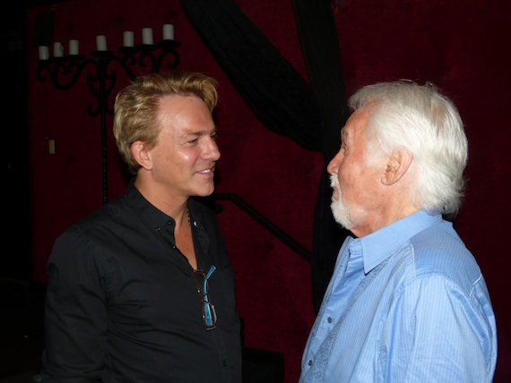 Pictured (L-R): Red Light Management's Fletcher Foster and Kenny Rogers