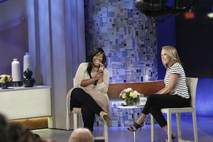 Mandisa and Katie Couric