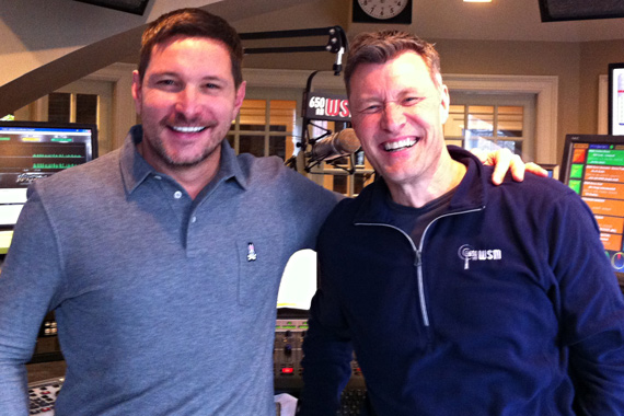 Funl/Flying Island's Ty Herndon recently visited with WSM's Bill Cody in promotion of his new material from his first album in seven years Lies I Told Myself.