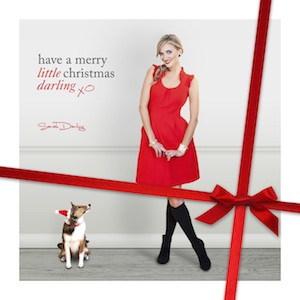 sarah darling christmas album11