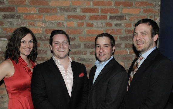 Pictured (L-R): Michelle Tigard Kammerer, Brian O'Neil, Eric Wright and Kent Wolfenbarger. Photo: Andrea Cothern.