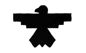 A thunderbird symbol is used on the album to represent strength, resilience and renewal.