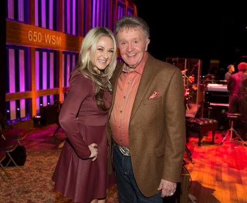 Pictured (L-R): Leah Turner and Bill Anderson