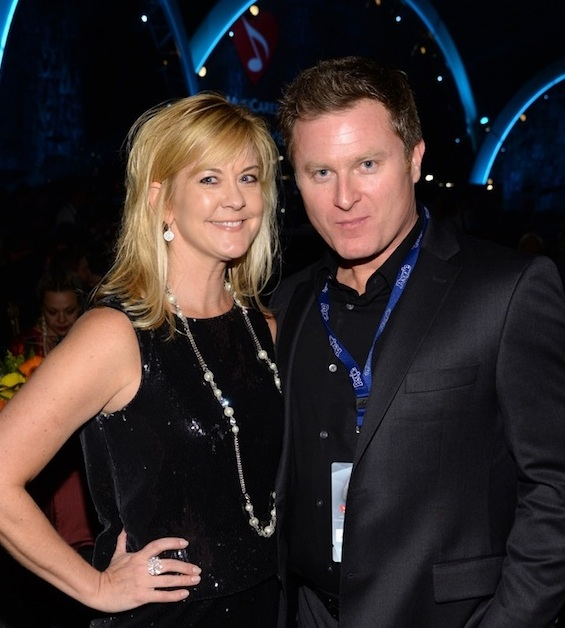 """Pictured (L-R): Ellen Truly, SESAC's Vice President, Corporate Relations, with husband, actor Todd Truley (""""Nashville"""", Prisoners, Grudge Match)."""