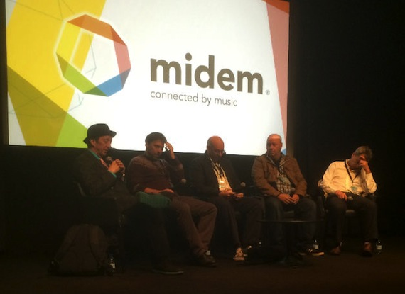 Indie panel at MIDEM featuring