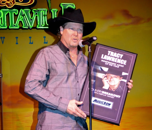 Independent Artist of the Year Tracy Lawrence.