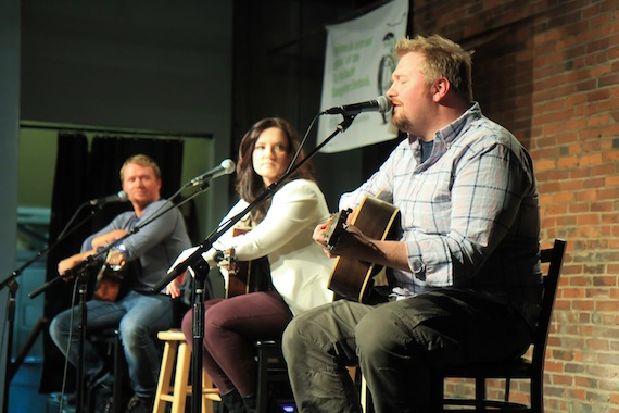 Clark, McAnally, Osborne at Listening Room