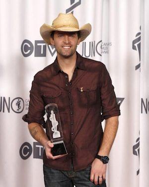 Dean Brody at the 2014 Juno Awards.