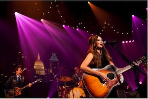 Kacey Musgraves. Photographer Credit: KLRU-TV Austin City Limits. Photo by Scott Newton
