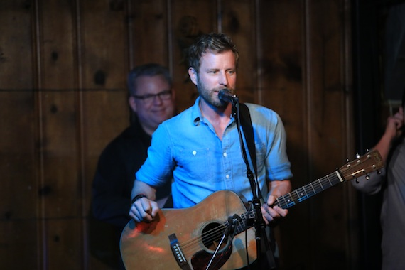 Dierks Bentley performs at Nashville's Station Inn