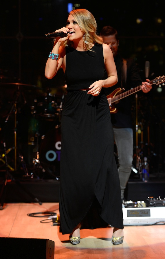 Underwood performs during the TIME 100 Gala.