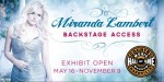 Miranda Lambert Exhibit To Open at CMHoF