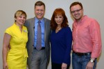 Reba Entertains Students During CMHoF Educational Event