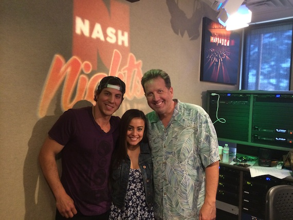 Pictured (L-R): Joshua Scott Jones, Elaina Doré Smith & Shawn Parr from Nash Nights Live