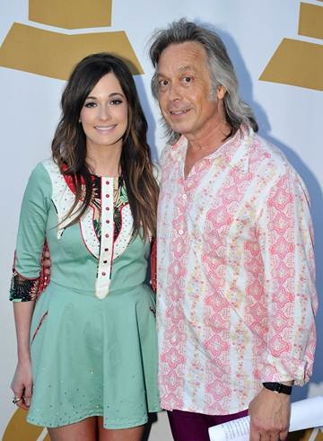 Pictured (L-R): GRAMMY-winning artists Kacey Musgraves and Jim Lauderdale. Photo: Frederick Breedon.