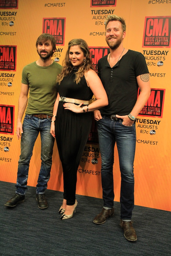 Lady Antebellum. Photo: Moments By Moser