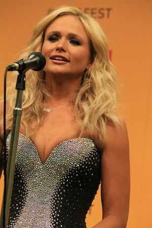 Miranda Lambert backstage. Photo: Moments By Moser