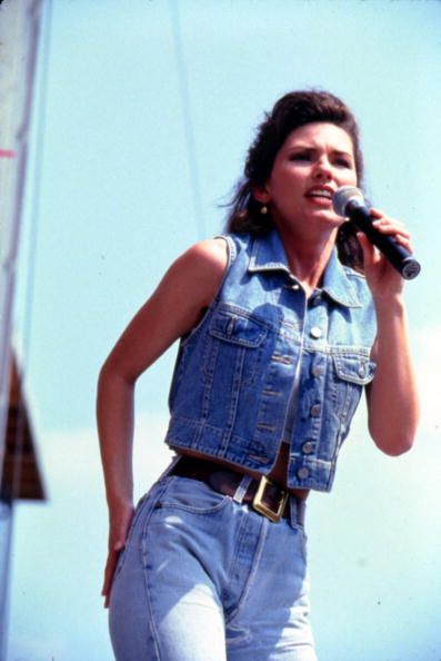 Shania Twain at Fan Fair