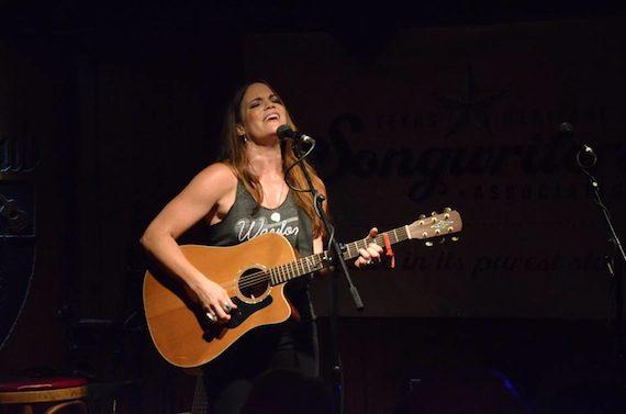 Bonnie Bishop performs at Saxon's Pub.