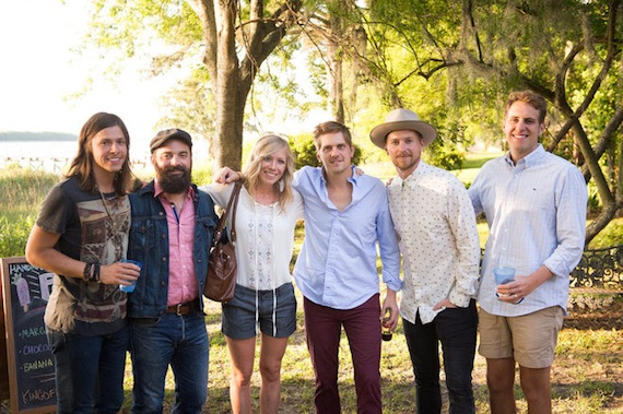 NEEDTOBREATHE is joined by Drew & Ellie Holcomb and Ben Rector at the 2014 tournament. Photo: Paul Kim.