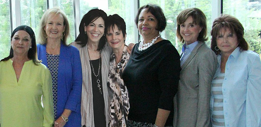 Pictured (L to R): Betty Clark, Areeda Schneider-Stampley, Katie Gillon, Kitty Moon Emery,Dometra (Dee) Bowers, Mary Ann McCready and Audrey Winters.Photo credit: Denise Fussell
