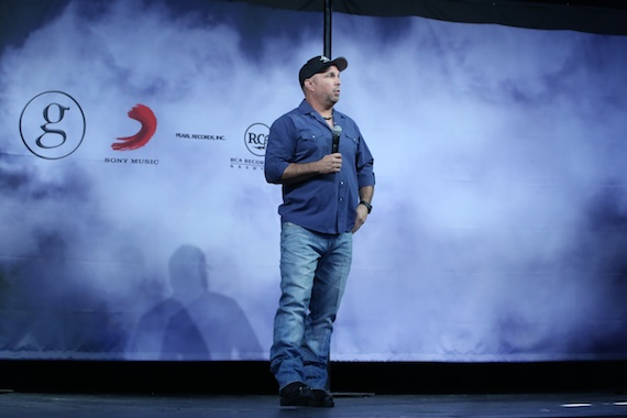 Garth Brooks. Photo: Bev Moser, Moments By Moser
