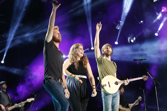 "Lady Antebellum will perform during ""CMA Music Festival: Country's Night to Rock"" airing Tuesday, Aug. 5 on the ABC Television Network. Photo Credit: John Russell/CMA"