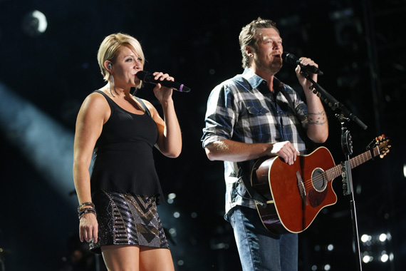 """Blake Shelton and Gwen Sebastial will perform during """"CMA Music Festival: Country's Night to Rock"""" airing Tuesday, Aug. 5 on the ABC Television Network. Photo: John Russell/CMA"""