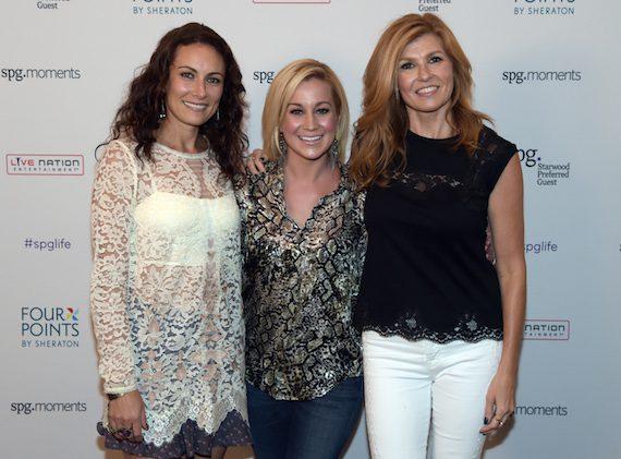 Pictured (L-R):  Laura Benanti, Kellie Pickler, Connie Britton  Photo: Getty/WireImage
